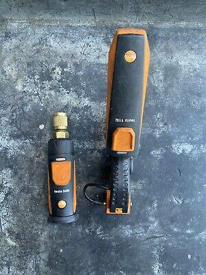 Hvacr Hvac Testo Bluetooth Gauge And Temp Sensor Clamp