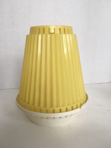 Vintage NEW OLD STOCK Heldak Plastic Ceiling Light BULB COVE