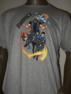 New Men's Gray Harbinger Valiant Superhero Characters Comic DC Comics Tee Shirt