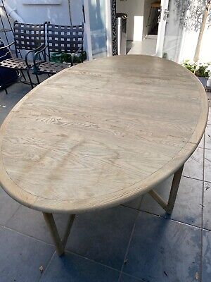 Second hand Oka folding leaf kitchen / dining  table