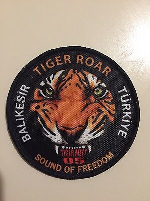 Turkish Air Force Nato Tigermeet 2005 Demo Patch f-16 Fighting Falcon