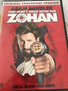 ZOHAN Adam Sandler Movie, Spider-Man Trivia game DVD