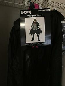 Vampire men's costume, worn once! One size fits most Eastwood Ryde Area Preview