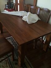 Furniture dinning table and chairs Meadow Heights Hume Area Preview