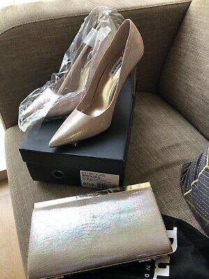 ladies shoes and matching handbag Size 6 - Dune BRAND NEW