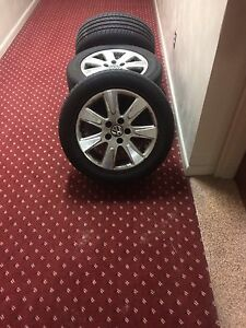 "Set of Four - Volkswagen 16"" Alloy Rims"