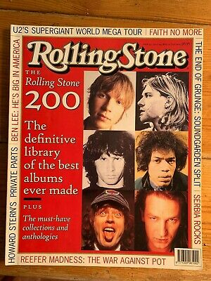 Rolling Stone, JUL97 - 200 Best Albums Ever Made, Reefer Madness, U2, Faith