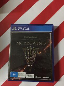 The elder scrolls online morrowind, PS4, PlayStation 4, BRAND NEW