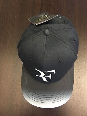 Nike  Rf Classic99 Dri Fit Roger Federer Hat Aerobill Black Authority Unisex