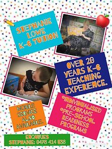 K-6 Tutor - Qualified teacher over 20 years teaching experience Chipping Norton Liverpool Area Preview