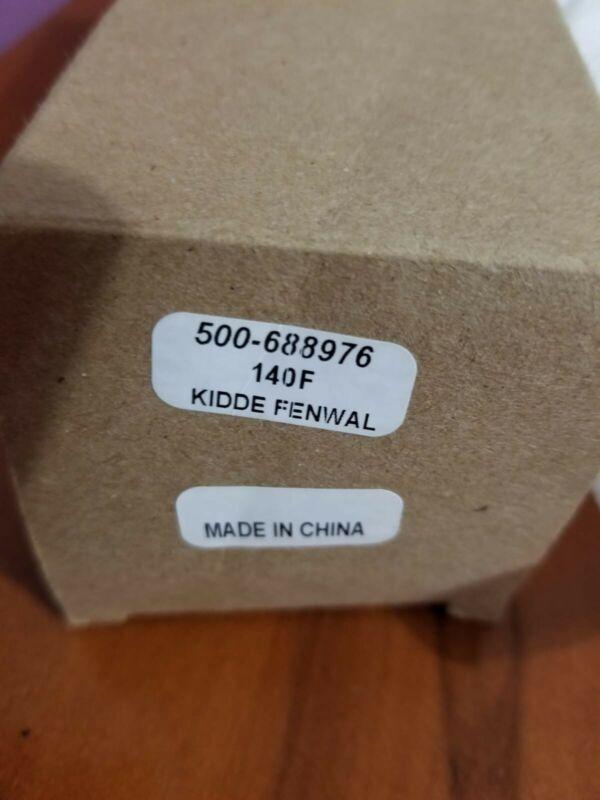 Kidde Fenwal 500-688976 140F Vertical Detect-A-Fire Heat Detector NIB Ships Free