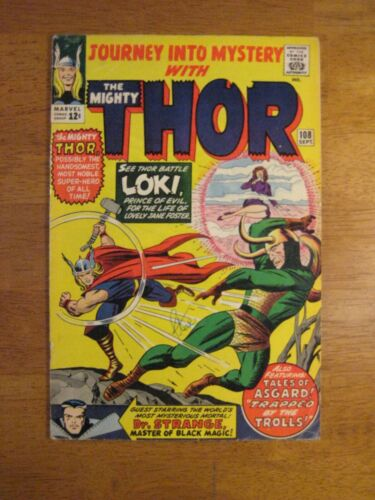 JOURNEY INTO MYSTERY/THOR #108 (VF-) Super Bright, Colorful, Glossy!