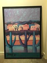 Framed Downe Burns Print New Auckland Gladstone City Preview