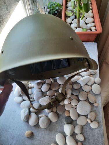 Original USSR Military Soviet Army WWII SSH40 Type Steel Helmet Size 2 Russian