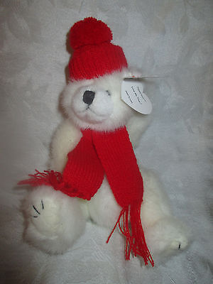 TY PEPPERMINT ATTIC TREASURES BEANIE PLUSH...DATED 1993 Retired  - $5.99