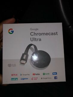 Brand new unopened chrome cast ultra
