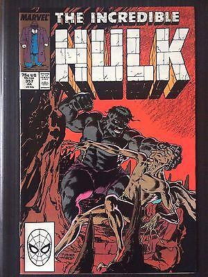 """Incredible Hulk  #357  (1962 1st Series)    """"Glorian Ghoul Cloot""""    VF"""