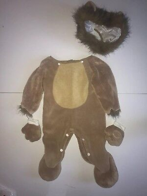 Fun World Costumes Baby's Lion Cub Toddler Tan Toddler Sz 12-24 Months - Warm Baby Costumes
