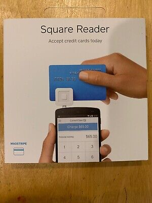 New Square Credit Card Reader For Apple Iphone Ipad Android 10 Credit Deposit