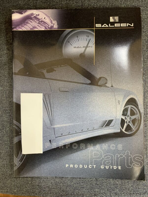 Saleen 2001 Performance Parts Product Guide