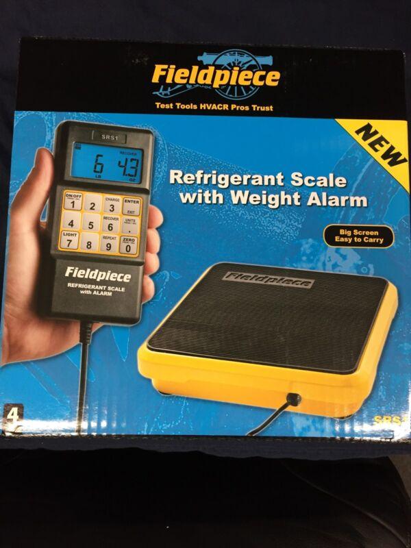 FIELDPIECE SRS1 REFRIGERANT SCALE W/ WEIGHT ALARM