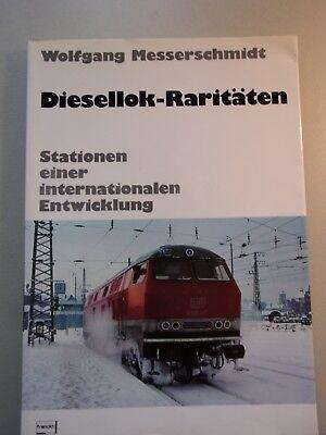2 Bücher Diesellok-Raritäten Stationen internationalen Entwicklung Eisenbahnen