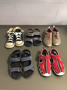 Various boys Toddler shoes -