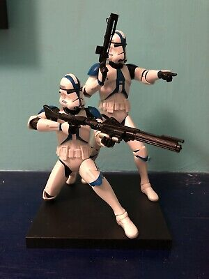 kotobukiya star wars artfx 1/10 501st Clone Troopers Figures LE 2000