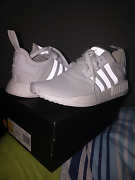 ADIDAS NMD R1 TRIPLE WHITE SIZE US10 MEN Craigieburn Hume Area Preview