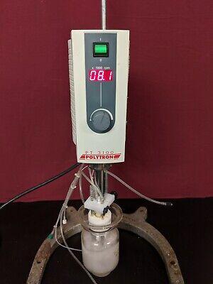 Polytron PT-MR3100 Kinematic Homogenizer w/ Dispersing Aggregate & Glass Vessel, usado segunda mano  Embacar hacia Argentina