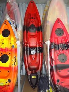 NEW FAMILY 2+1 DOUBLE SIT ON FISHING KAYAK PACKAGE CANOE SURF SKI St Marys Penrith Area Preview