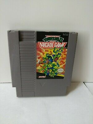 Teenage Mutant Ninja Turtles 2: The Arcade Game NES 1990 Cartridge Only TMNT