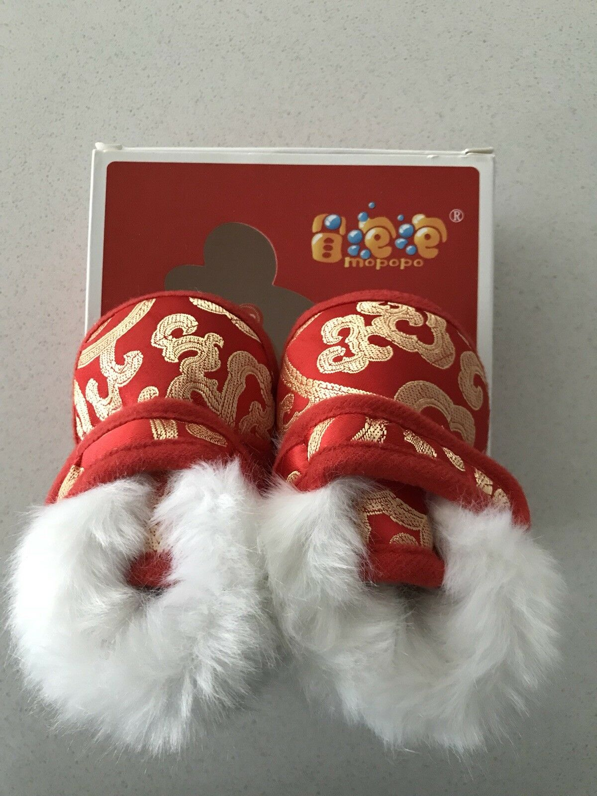 NEW Chinese Lunar New Year Baby Boots Size 4