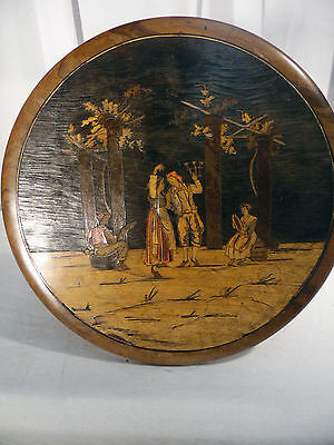 Guéridon tripode /Guéridon Napoléon III /Table d