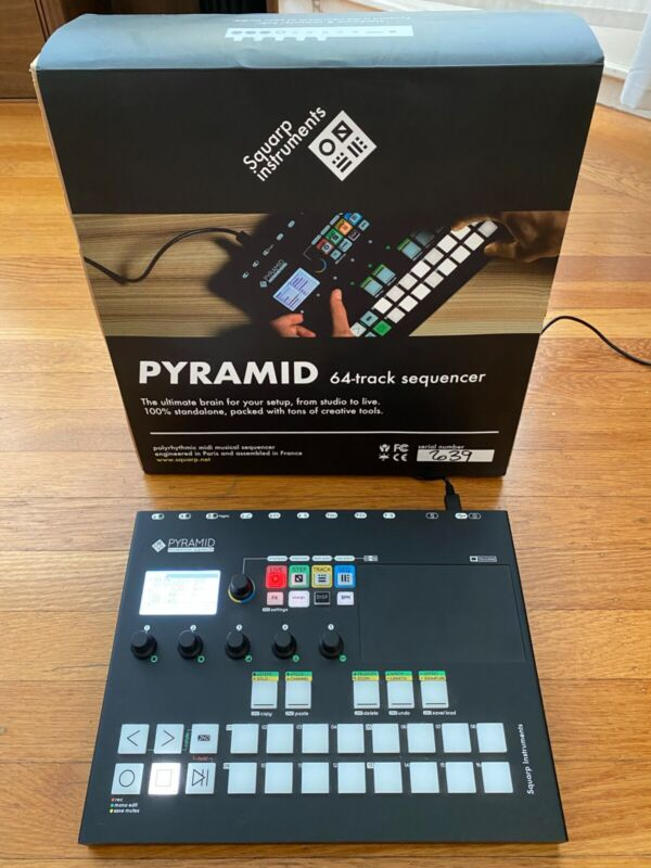 Squarp Pyramid MK II MIDI Sequencer - Hardware & Computer Hub