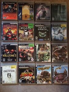 16 PlayStation 3 PS3 Game Lot