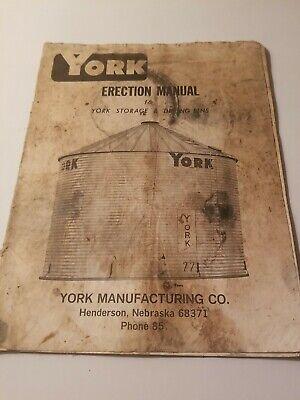 York Manufacturing Cograin Binerection Manualstoragedrying Binsowners