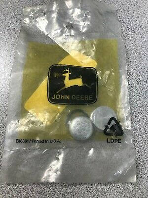 New John Deere Oem Am117049 Plug Kit For Short Block 17hp Twin Jd60 Skid Steer