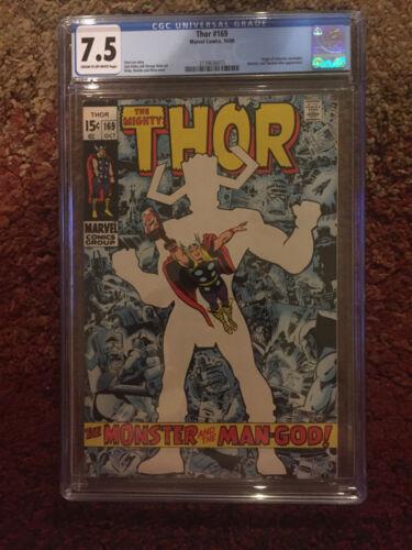 Thor #169 CGC 7.5 - Galactus Origin
