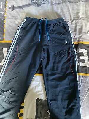 Adidas tracksuit bottoms Mens Xl Navy Blue