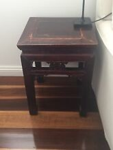 Small side table Asian design Hunters Hill Hunters Hill Area Preview