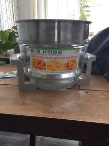 Oil-less fryer used only twice