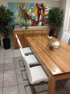 As new freedom Avenue dining set and benson sofas x2 Chester Hill Bankstown Area Preview