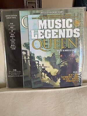 Queen News Of The World In Concert NEW SEALED GREEN Vinyl LP Record Album