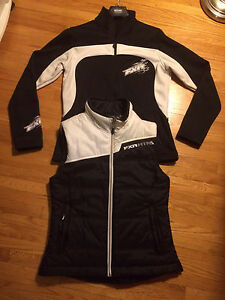 FXR fleece jacket and insulated vest size sm