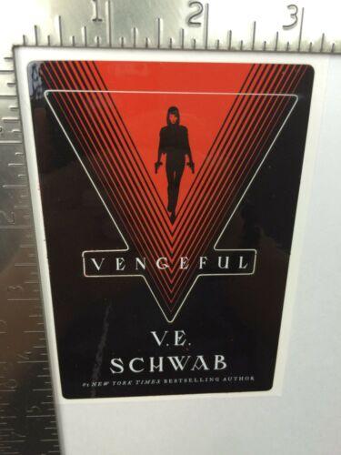 Vengeful Sticker Victoria V.E. Schwab 2019 NYCC Tor (not a book)