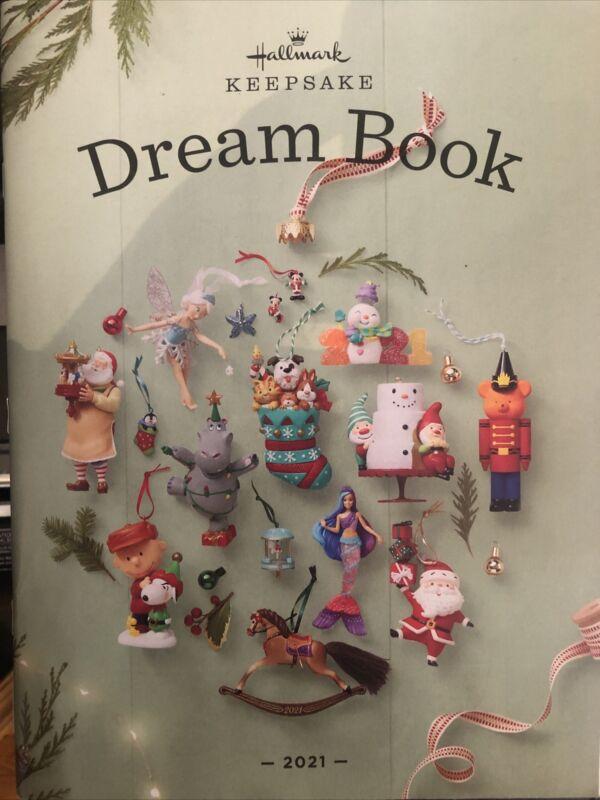 Hallmark Keepsake 2021 Dream Book Wish List Brand New Ornament Dreambook