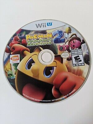 Pac-Man and the Ghostly Adventures 2 (Nintendo Wii U, 2014)