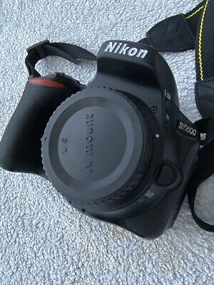 Nikon D5600 24.2 MP Digital SLR Camera  with 18-55mm And  35mm And 18-270mm Lens