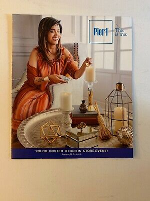 PIER 1 IMPORTS Harvest/Halloween 2018 Catalog Home Decor 23 Pages NEW - Halloween Decor Catalogs